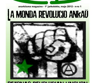 Anarkiisma magazino Anarkio kaj Esperanto nº 01