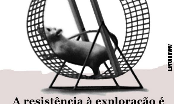 Nossa luta: anarcossindicalismo e anarquia já!