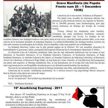 Informa bulteno Anarkio nº 12