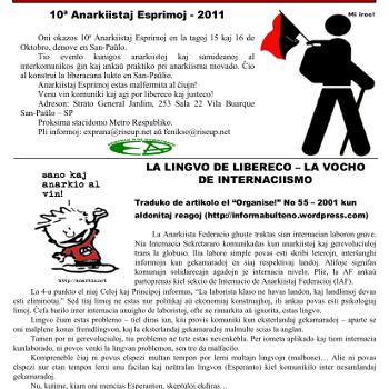Informa bulteno Anarkio nº 14