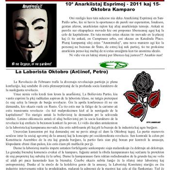 Informa bulteno Anarkio nº 15