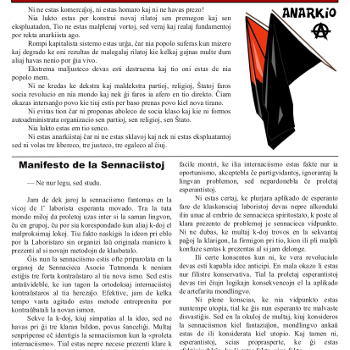 Informa bulteno Anarkio nº 16