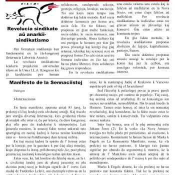 Informa bulteno Anarkio nº 17