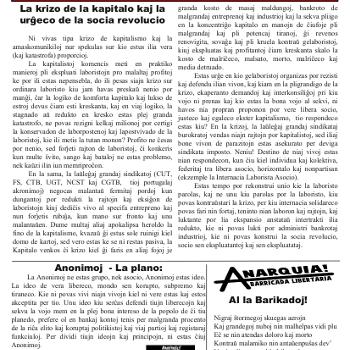Informa bulteno Anarkio nº 19
