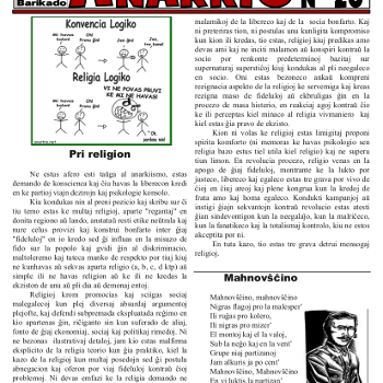 Informa bulteno Anarkio nº 20