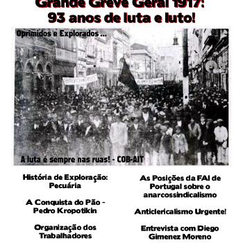 Revista anarquista Aurora Obreira nº 04