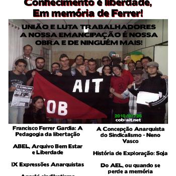 Revista anarquista Aurora Obreira nº 05