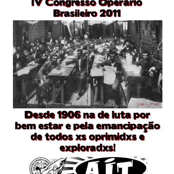 Revista anarquista Aurora Obreira nº 07