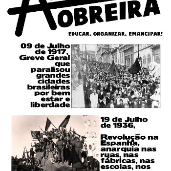Revista anarquista Aurora Obreira nº 10