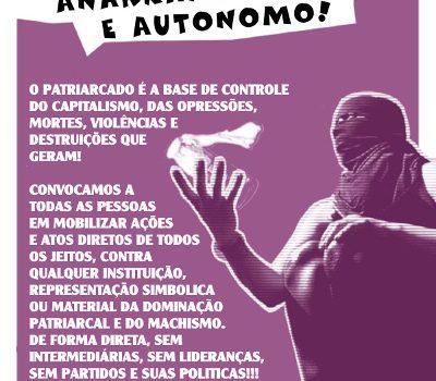 08 de março, dia mundial de mulheres em luta!