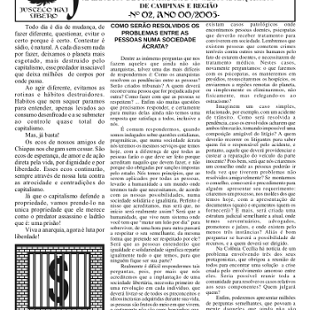 Jornal anarquista Fenikso Nigra nº 02
