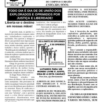 Jornal anarquista Fenikso Nigra nº 04