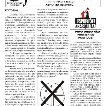 Jornal anarquista Fenikso Nigra nº 07