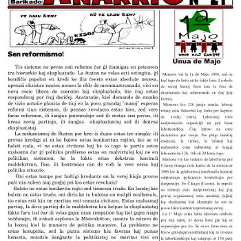 Informa bulteno Anarkio nº 21