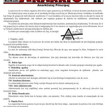 Informa bulteno Anarkio nº 22