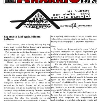 Informa bulteno Anarkio nº 24