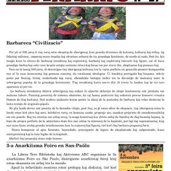 Informa bulteno Anarkio nº 27