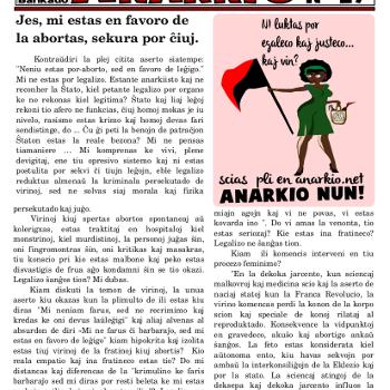 Informa bulteno Anarkio nº 29