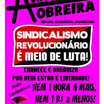 Revista anarquista Aurora Obreira nº38